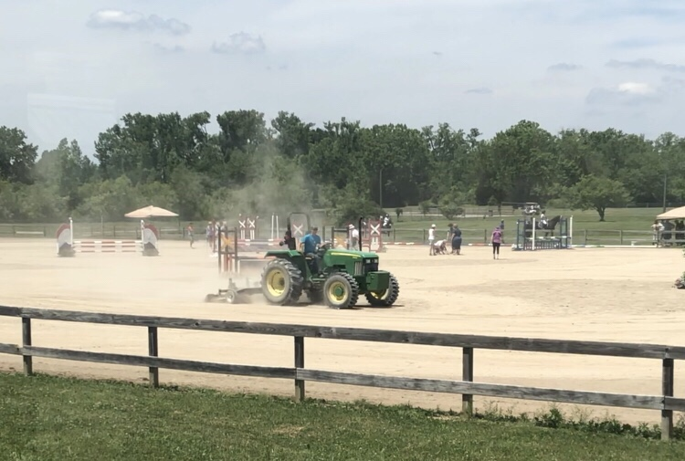 IEA Horse Trials – View from the SJ Ring